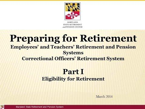 Retirement Part 1: Retirement Eligibility Video