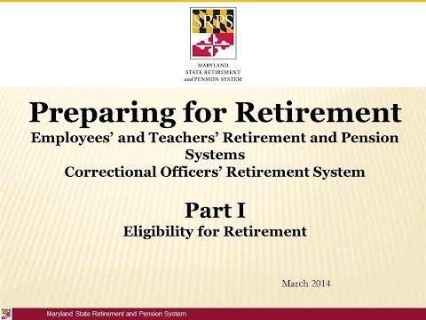 Retirement Part 1: Retirement Eligibility Video