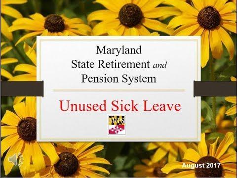 Unused Sick Leave Video