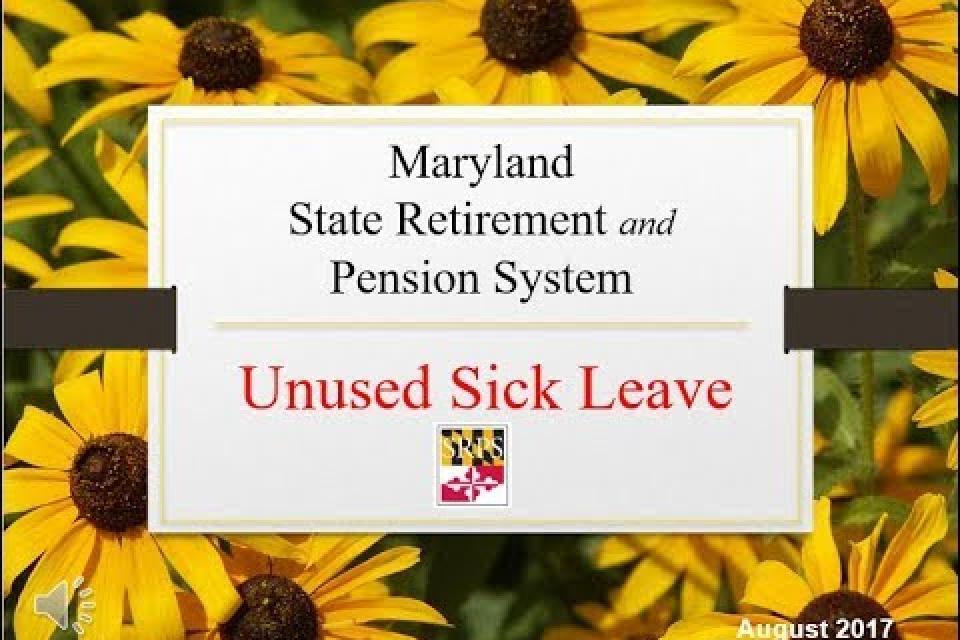 Unused Sick Leave